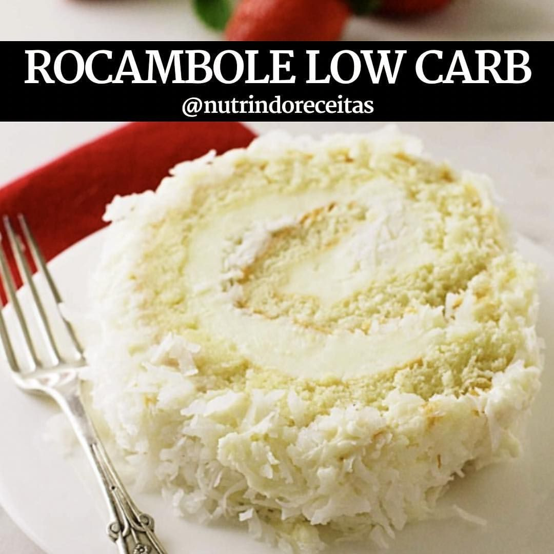 Rocambole Low Carb Ingredientes 4 Ovos 1 Xicara De Farinha De