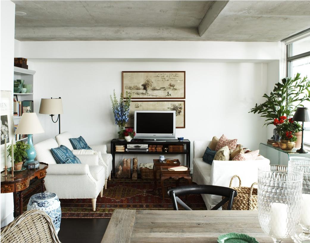 Mayfield Renovation : Living Room Inspiration - olivet - simple ...