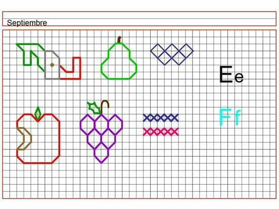 Figuras Artisticas Graph Paper Art Graph Paper Drawings Paper Drawing