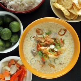 Soto Betawi Jakarta Beef Soup Recipe Asian Food Indonesian