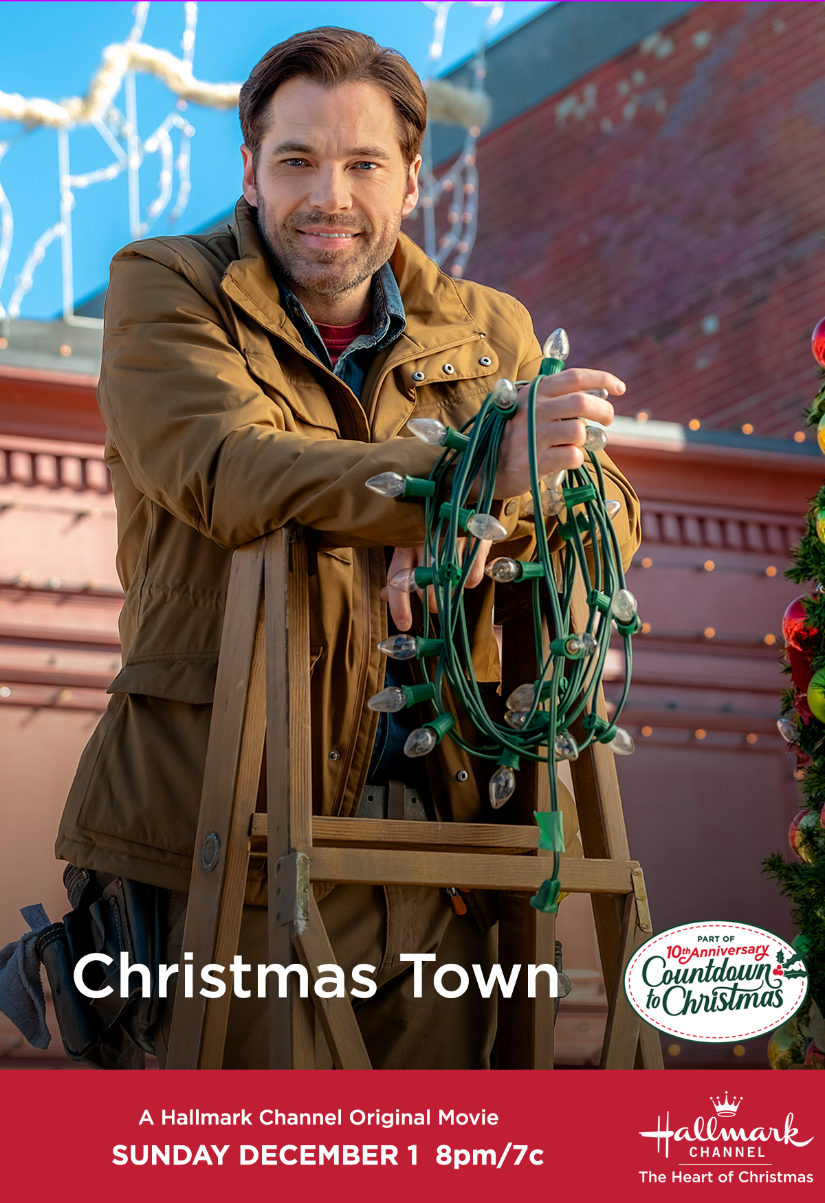 Christmas Love Dec 1 2020 Tim Rozon makes his first Countdown to Christmas appearance in