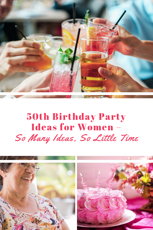 """50th #birthdays are an important time in any woman's life. By #50 you have this whole """"life"""" thing pretty much figured out and you're ready for whatever's around the corner. Are you planning a #birthday #party for a woman turning 50? Celebrate this special #milestone the right way with these 50th birthday party ideas! Masterthevent.com #MilestoneBirthday #50thBirthdayPartyIdeas #BirthdayPartyPlanning #50thbirthdaypartydecorations"""