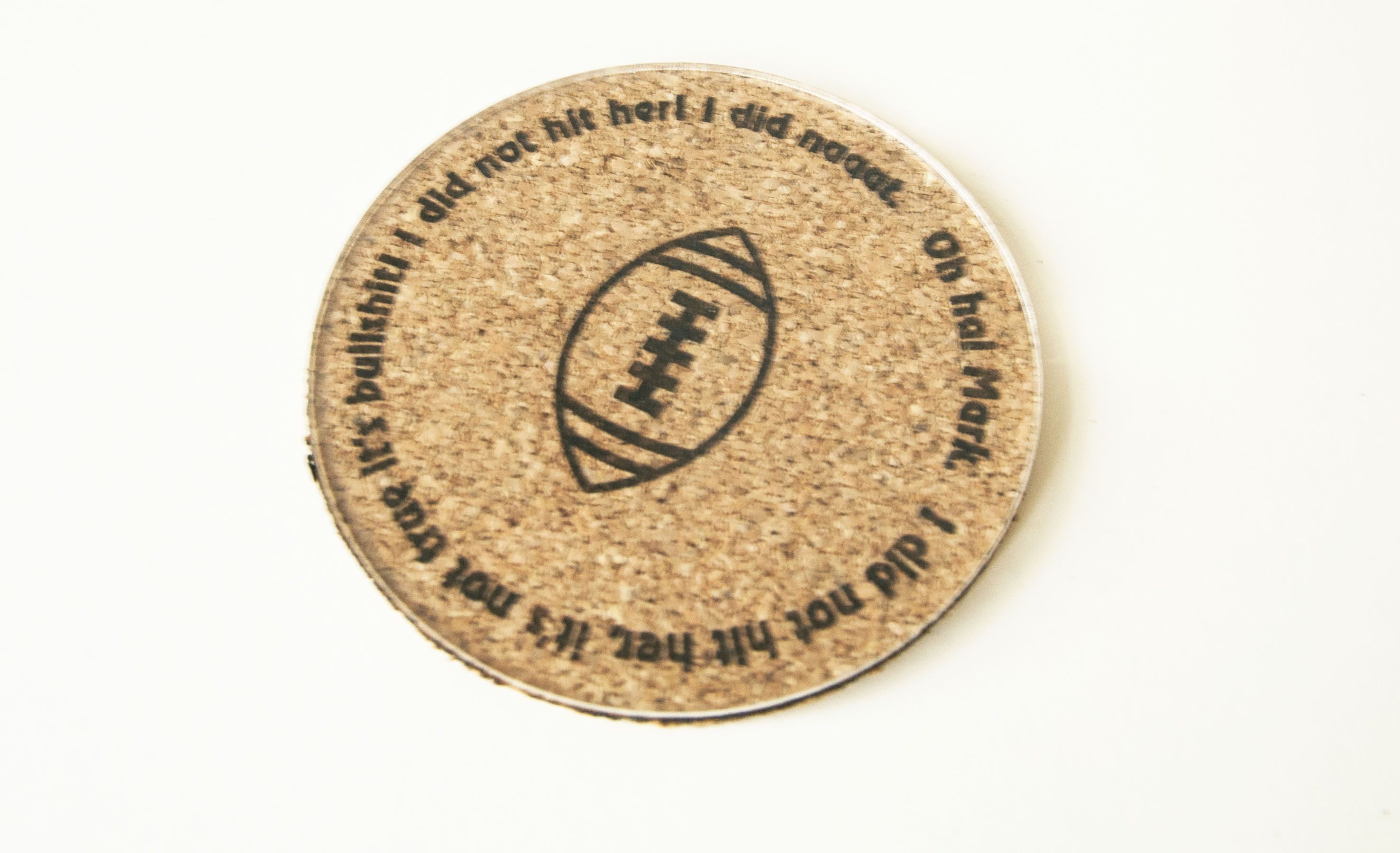 """The Room Movie Quotes Coaster Set! Tommy Wiseau """"The Room"""