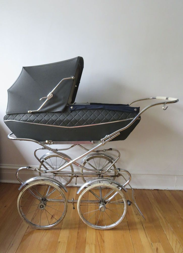 Details About Vintage Giuseppe Perego Baby Buggy Stroller