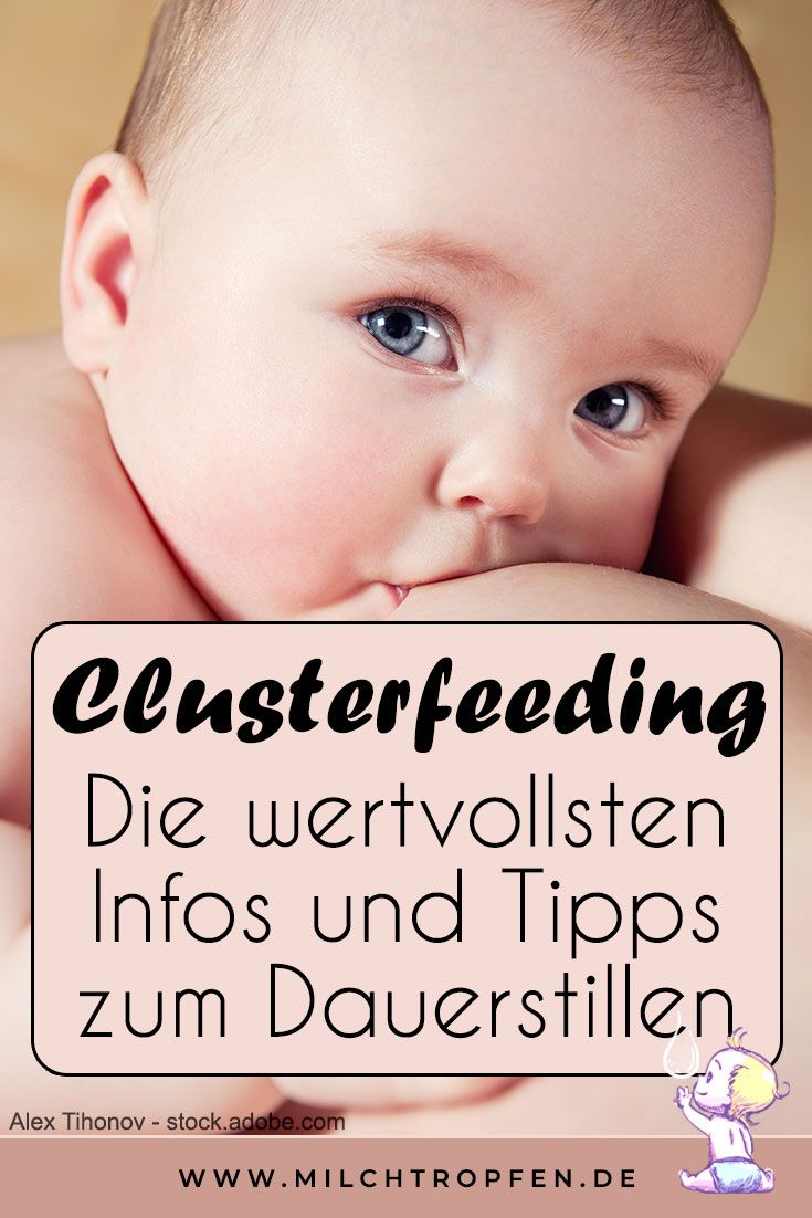 Clusterfeeding Wie Lange
