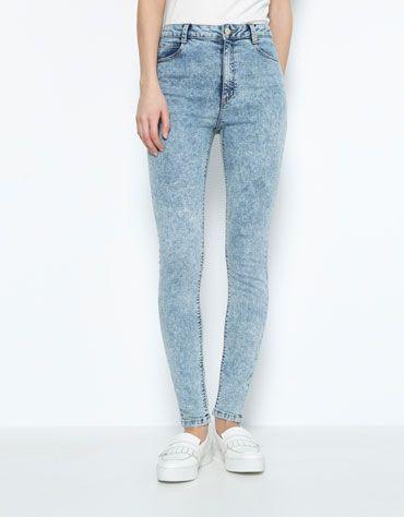 Dzinsy O Kroju Super Skinny Z Wysokim Stanem Bershka Bershka Bershka Polska Womens Jeans Skinny Pants Outfit Casual Team Fashion