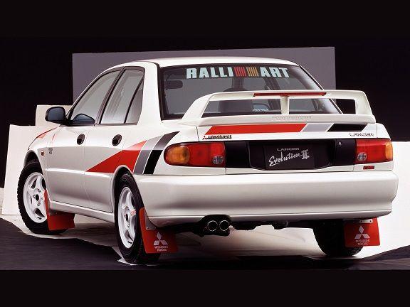 Ralliart Mitsubishi Lancer RS Evolution II (1994).