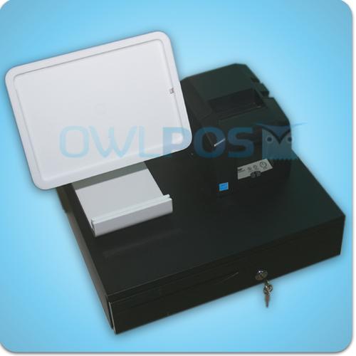 Square Stand For Ipad Air Printer And Cash Drawer Usb Hardware Bundle Tsp654iiu Ipad Stand Printer Usb