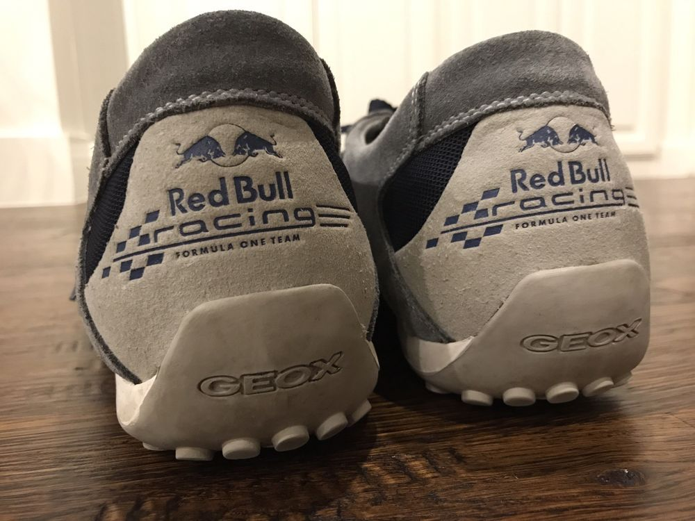 amazon offer discounts so cheap GEOX Respira Sneakers Mens Shoes SZ 12.5 Red Bull Formula ...