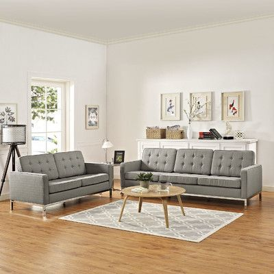 Orren Ellis Gayatri 2 Piece Living Room Set | Wayfair