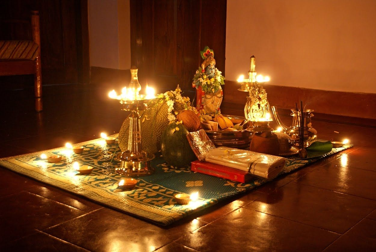 Vishu Festival According to the age old Keralan calendar