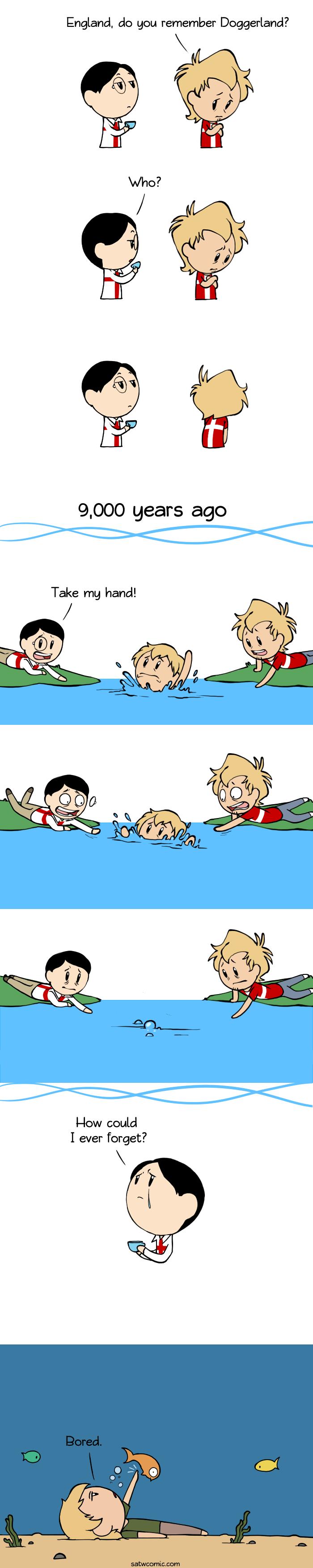 Lost Friends Scandinavia And The World Country Jokes Satw Comic Scandinavia