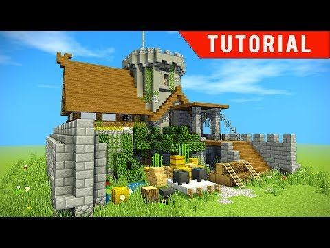 Minecraft How To Build A Modern Underwater House Tutorial How To Make 2017 Youtube Minecraft Castle Minecraft Minecraft Underwater