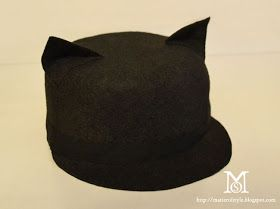 how to make a felt cat hat- Maybe fox instead? | Do-It