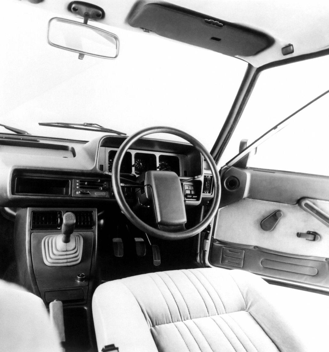 Fiat 131 Supermirafiori Interior