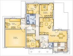 Luxus bungalow mit garage  Hausidee vom Typ Bungalow Nr. 10220 von parc bauplanung GmbH ...