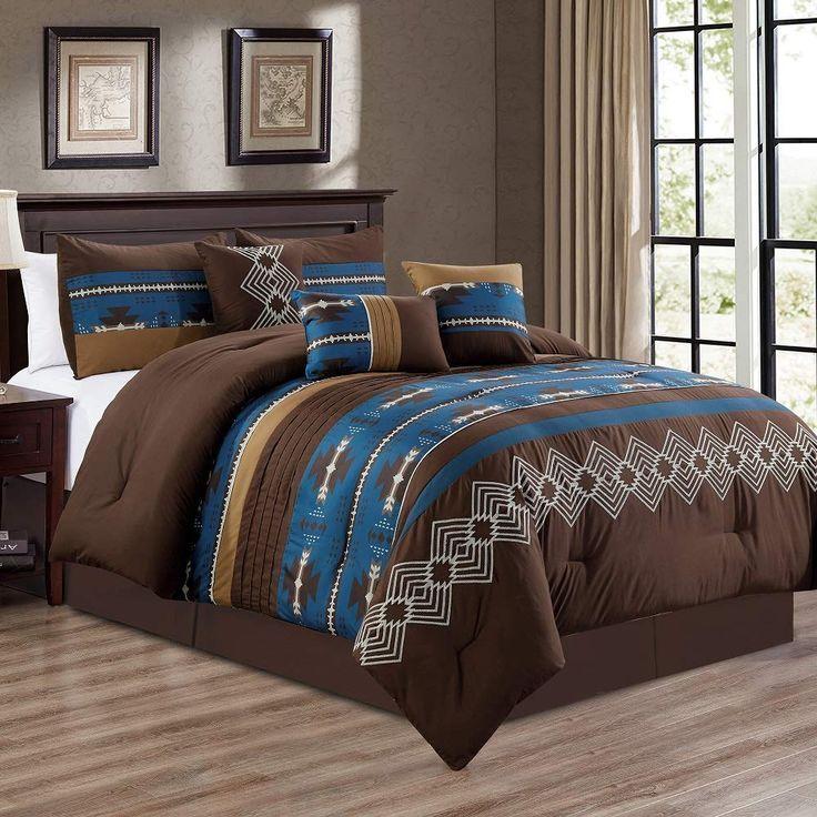 Southwestern Native American Design Comforter Set western