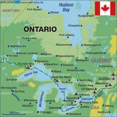 Image detail for map of ontario canada map in the atlas of the image detail for map of ontario canada map in the atlas of gumiabroncs Image collections