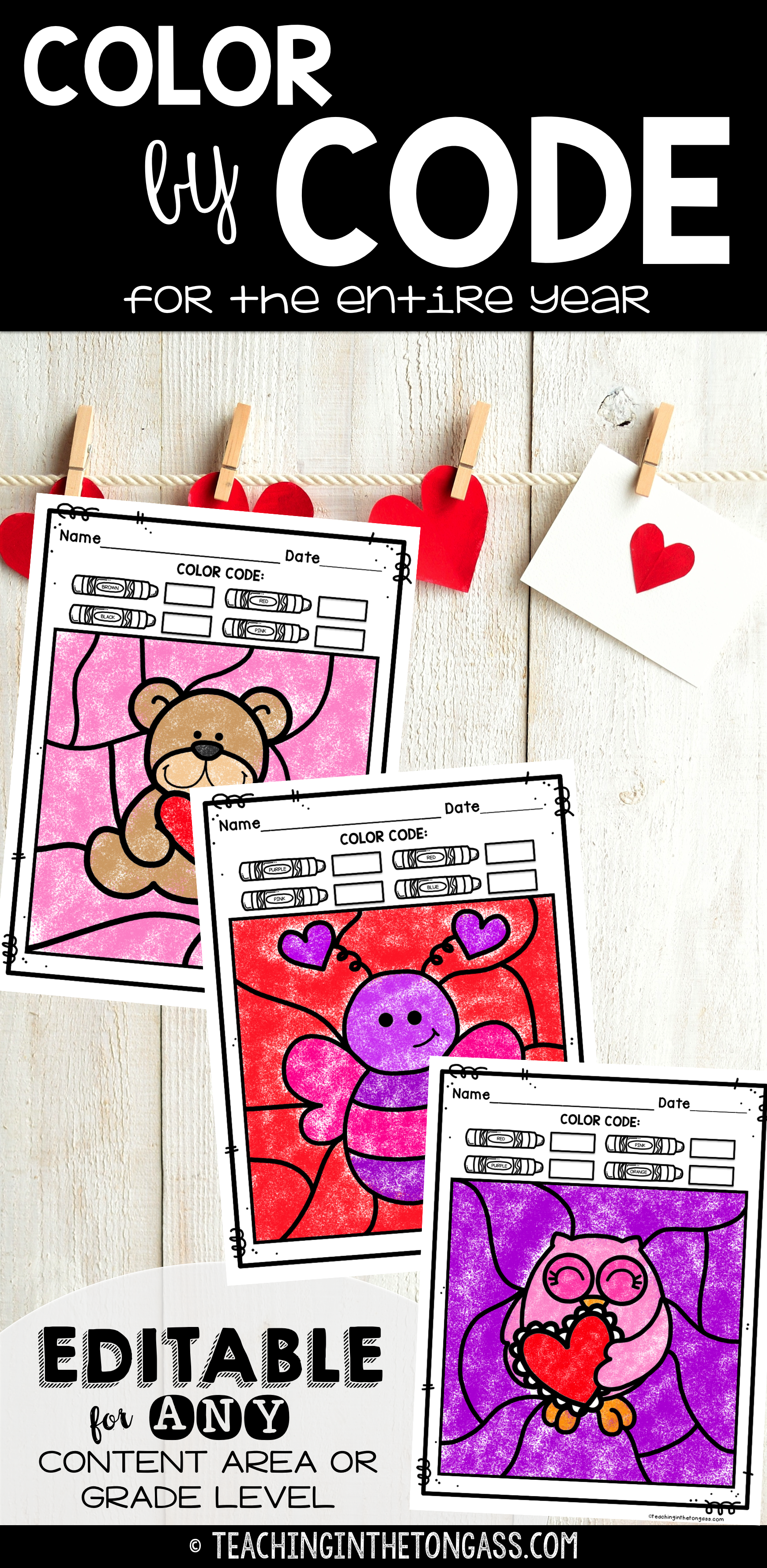 winter coloring pages editable color by code for the year