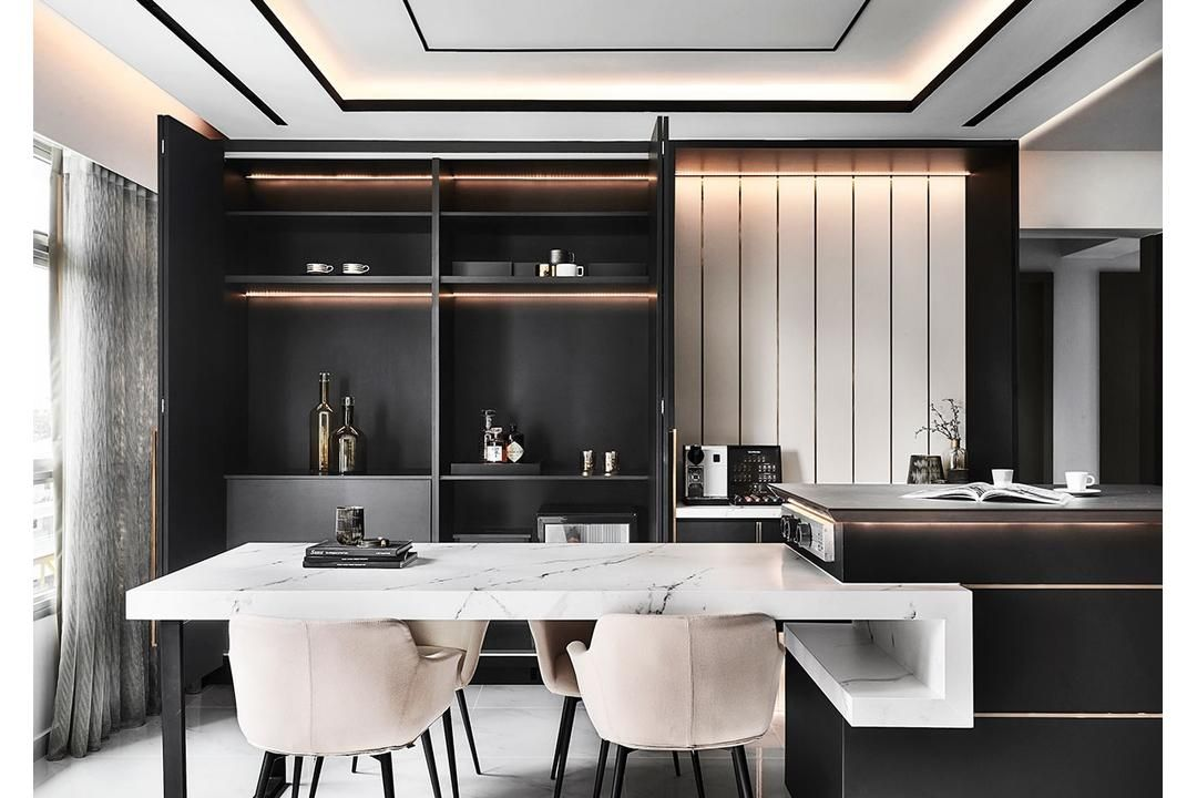 Bukit Batok Street 21 Interior Design Renovation Projects In Singapore With Images Sleek Furniture Interior Design Singapore Sleek Fixtures