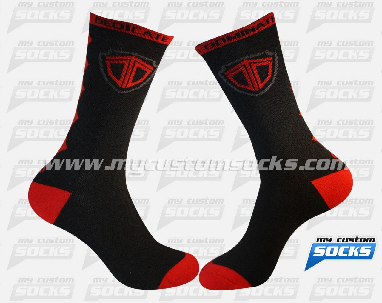 Elite Style socks designed by My Custom Socks for DDT in Jensen Beach, Florida. Multisport socks made with Coolmax fabric. #Multisport custom socks - free quote! ////// Calcetas estilo Elite diseñadas por My Custom Socks para DDT en Jensen Beach, Florida. Calcetas para Multideporte hechas con tela Coolmax. #Multideporte calcetas personalizadas - cotización gratis! www.mycustomsocks.com