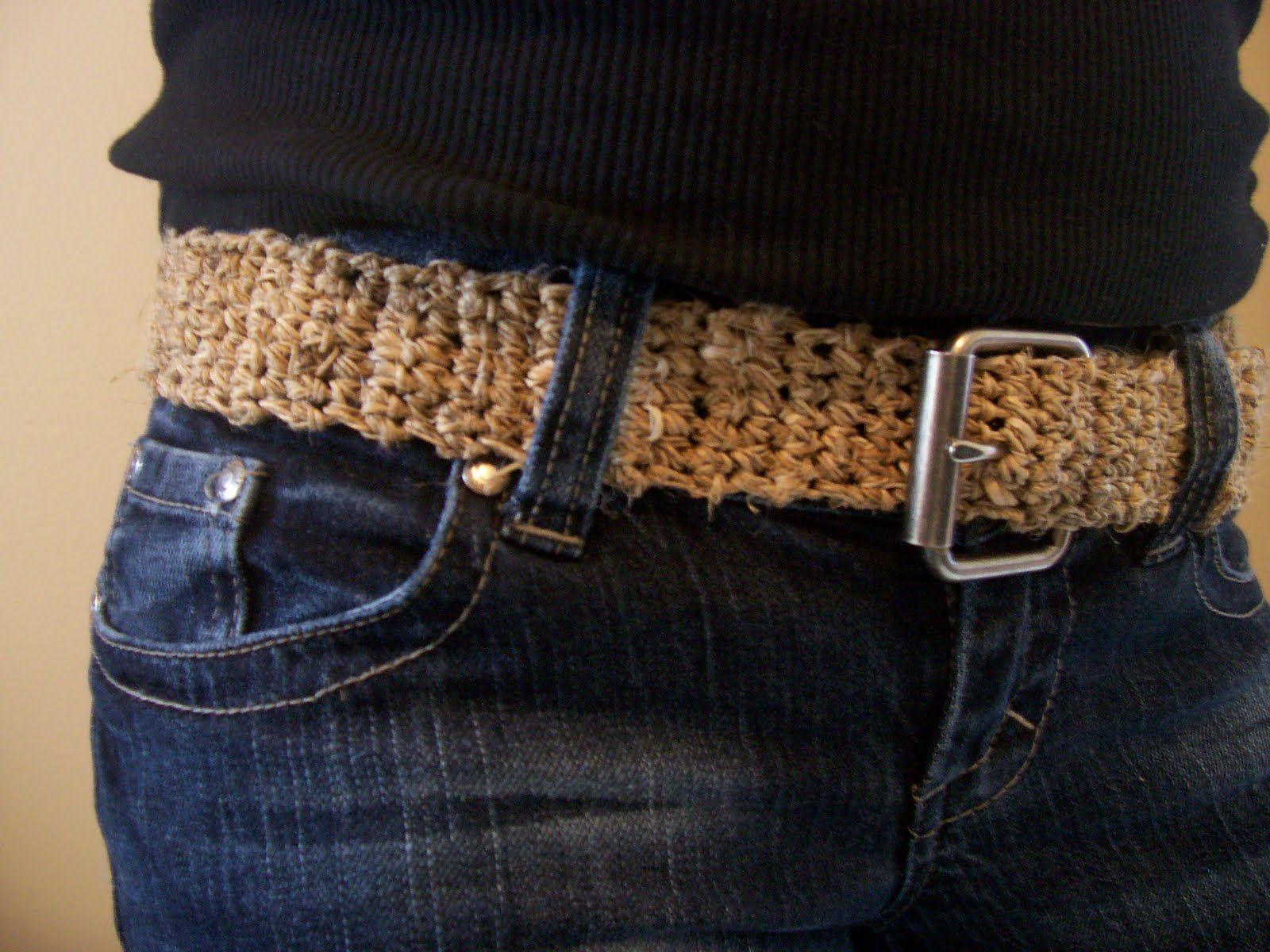 The Art of Zen.......Crochet: Free Belt Pattern