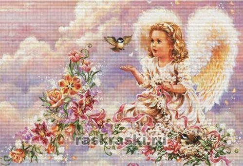 Пяльцы Q-snap 15,2х15,2 см (пластик) | Картинки ангелов ...