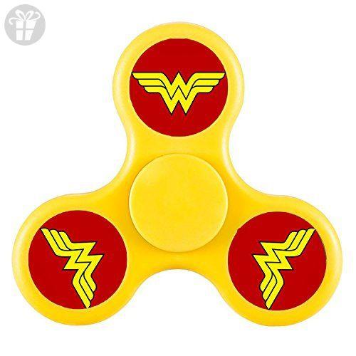 FUY WG6 Fid Spinner Wonder Woman Logo Tri Spinner High Speed Spin