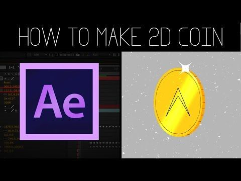 How To Make 3D Rotation Coin (2D Flat) + Project File