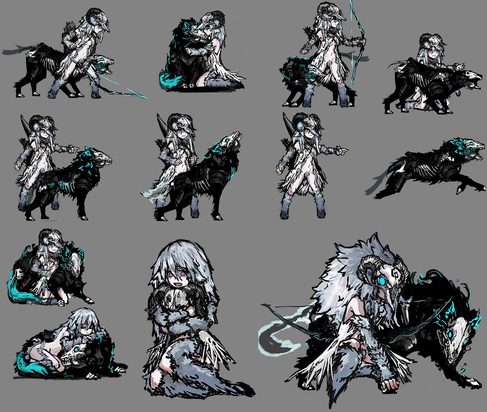 Steam Workshop Houndmaster Equinox Skin Pixel Art Characters Character Design Animation Anime Character Design