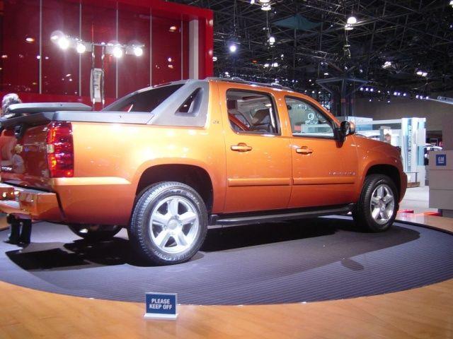 Chevy Avalanche Metallic Orange