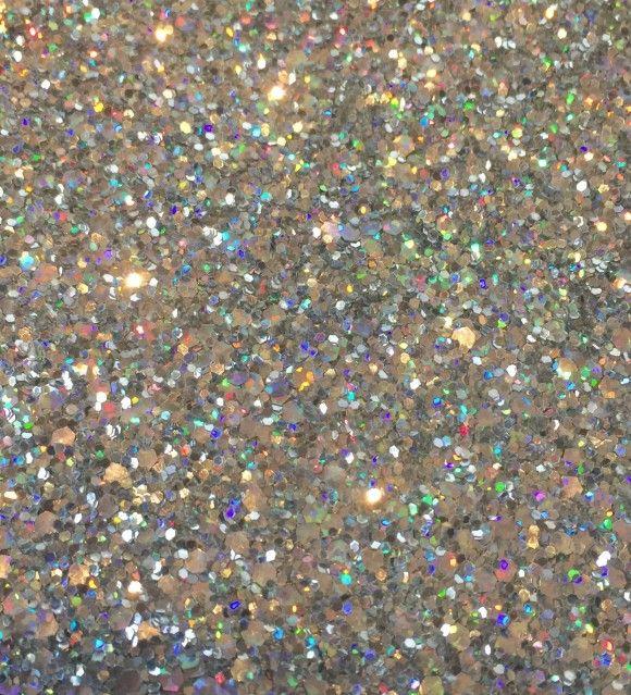 Silver Hologram  Glam  Glitter Wall Covering – Glitter Bug Wallpaper 4180b1de236c