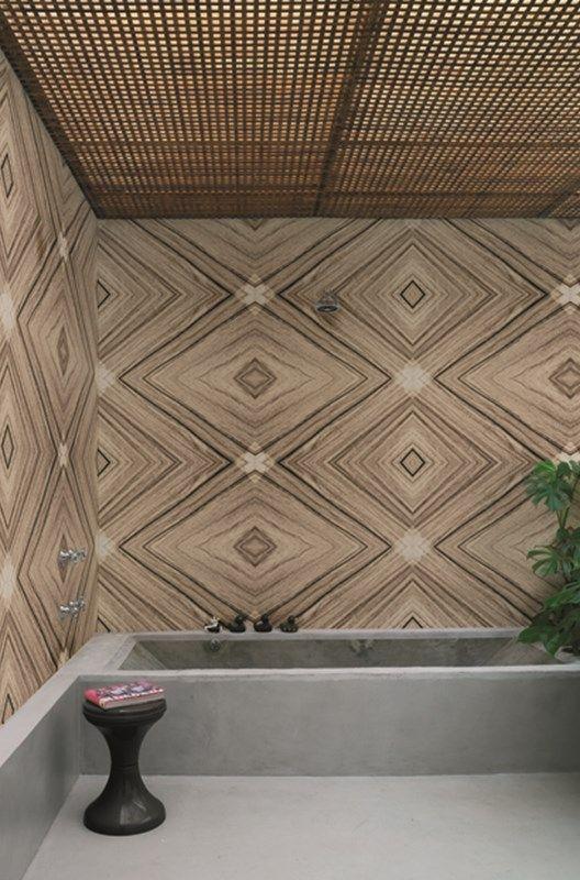 wasserdichte tapeten für die dusche/bad | deko - Badgestaltung Mit Tapete