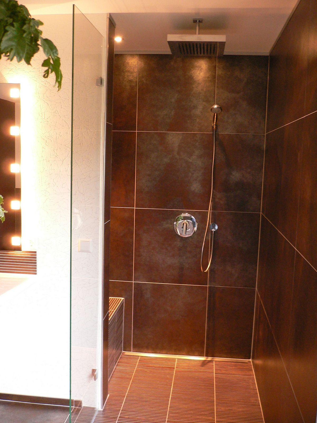 Amazing corner shower designs Shed Bath Lawn Landscape Contractors ...