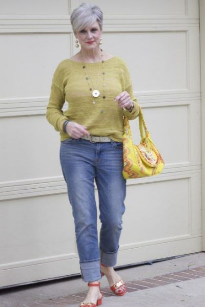 Trendy Clothes For 60 Year Old Woman