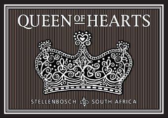Queen Of Hearts Wine Label Queen Of Hearts Vintage Graphics Be My Valentine