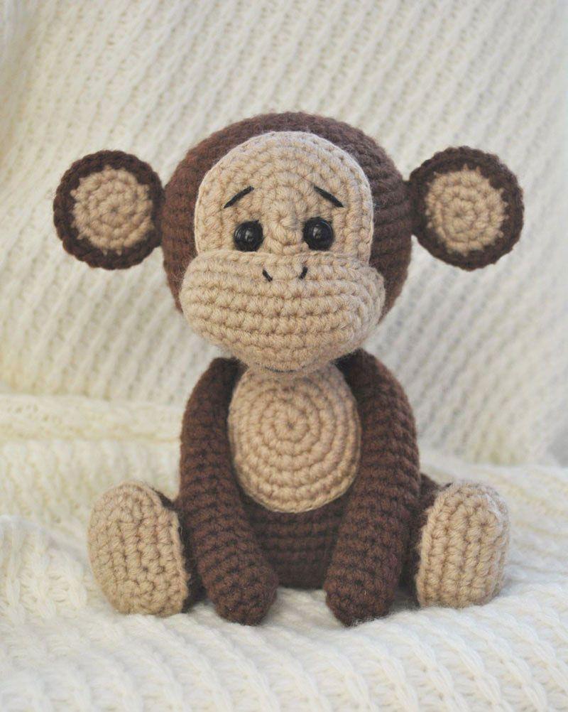 Patrón de amigurumi de mono travieso gratis | Amigurumis | Pinterest ...