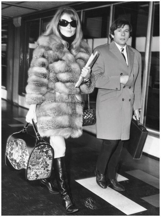 Sharon Tate and Roman Polanski 1967 Running Press