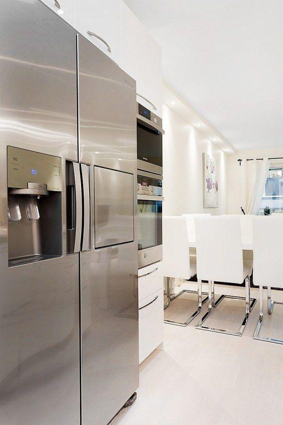 estilo nórdico moderno de lujo diseño interiores diáfanos decoración ...