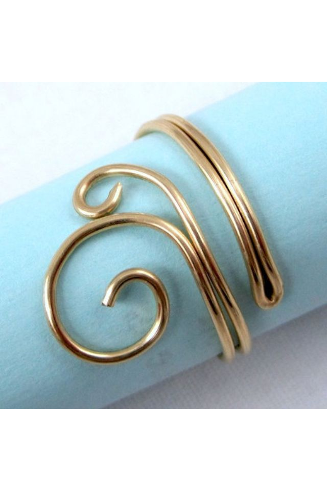 Thumb ring | Wire Jewelry and Projects | Pinterest | Ring, Wire ...