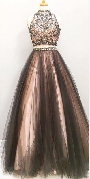 piece prom gowntwo dressesblack evening gowns pieces party gownsformal dress for teens also rh pinterest