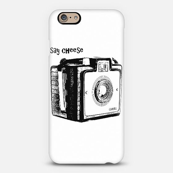 Say Cheese - phone and tablet case by Dogford Studios