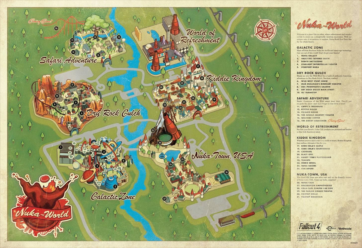 New Vegas World Map.Nuka World Map Fallout Pinterest Fallout Nuka World And