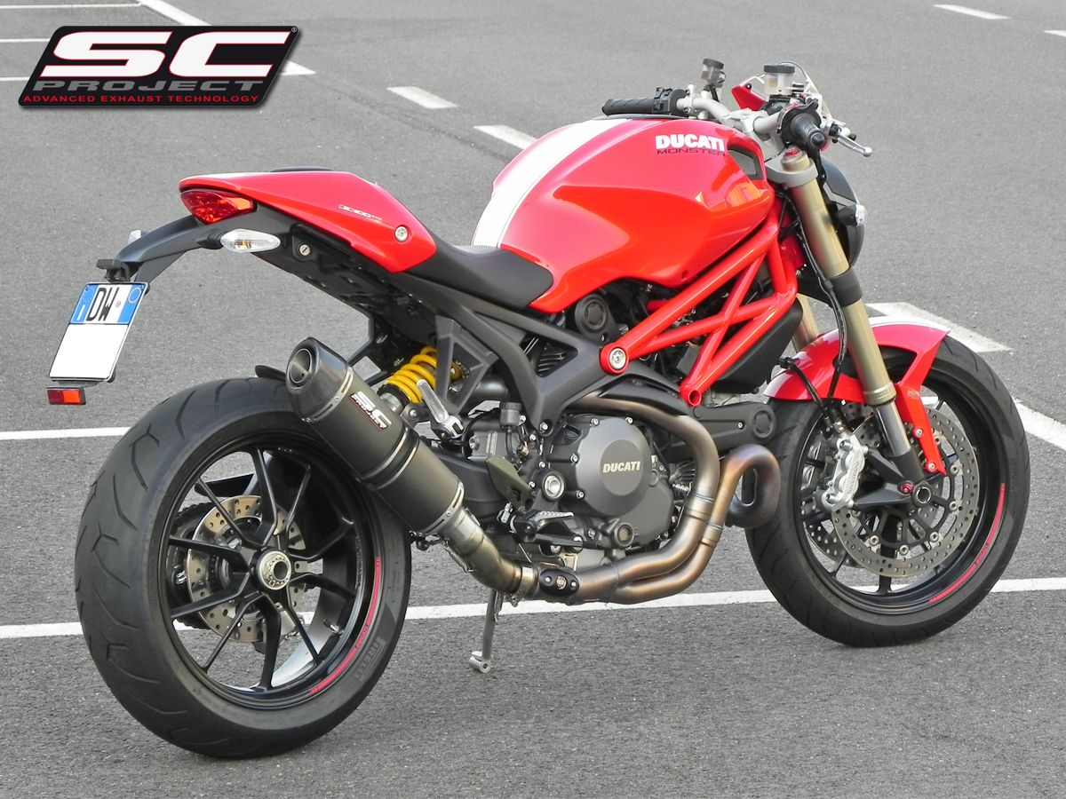 ducati monster 1100 evo fotogallery spark exhaust tecnology per ducati monster 1100 evo. Black Bedroom Furniture Sets. Home Design Ideas