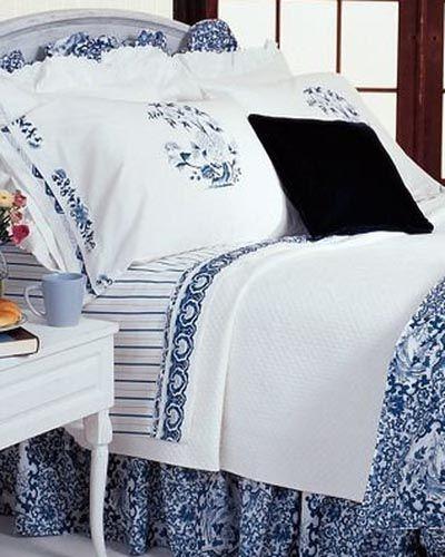 Blue And White Ralph Lauren Blue White Bedding Blue