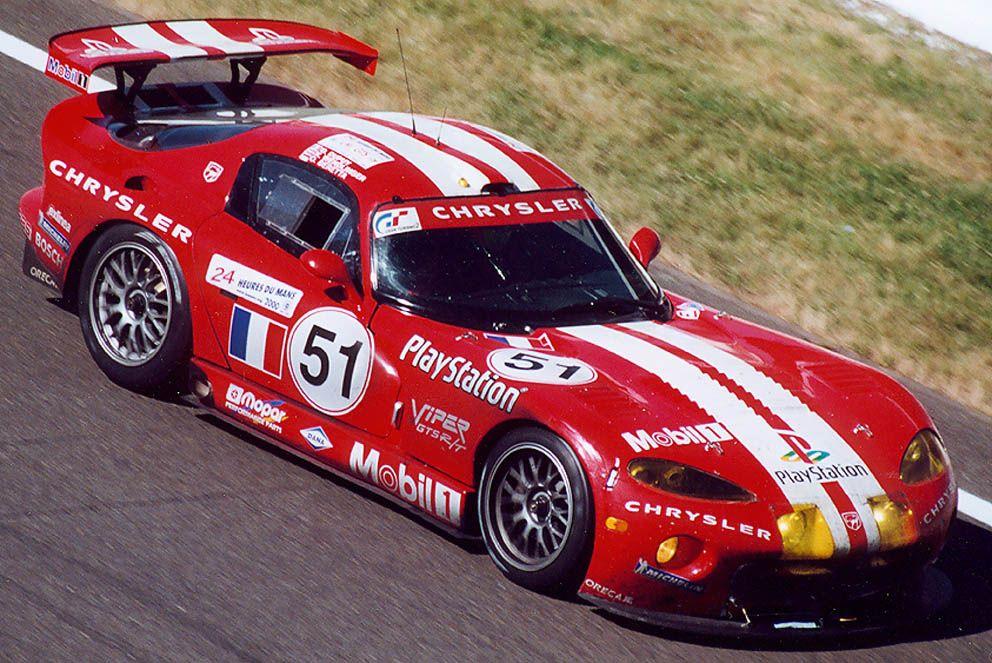 2000 Chrysler Viper GTS-R  Chrysler (7.986 cc.) (A)  Olivier Beretta  Karl Wendlinger  Dominique Dupuy
