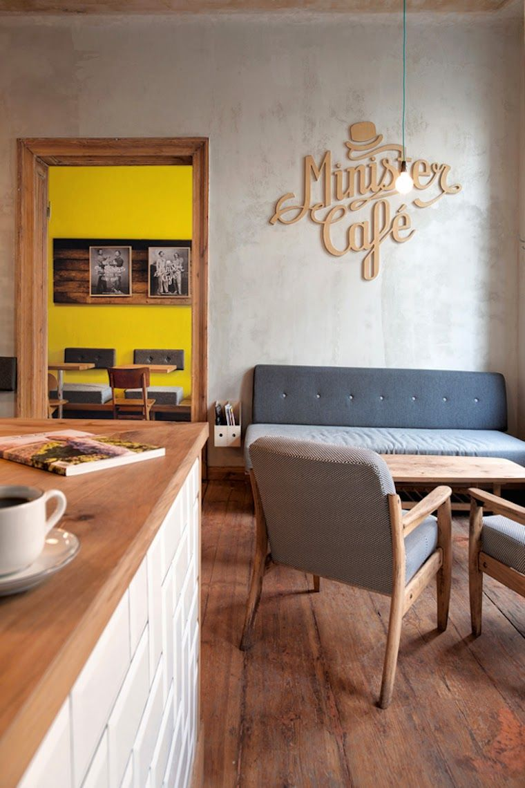 Minister Cafe #decor
