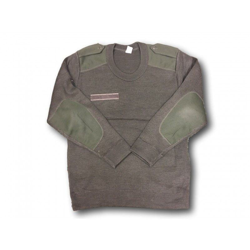 French Army Surplus Wool Mix  Jumpers