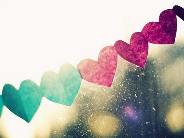 hearts, love, photography - inspiring picture on Favim.com
