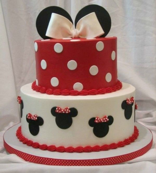 10 Cutest Minnie Mouse Cakes Mouse cake Minnie mouse and Minnie